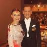 mit Tanzpartner
